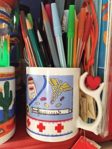 markers in a mug