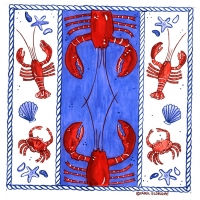 double lobster pillow
