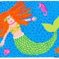 mermaid-and-sea-horse