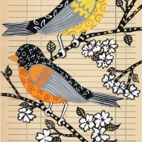 two-birds-on-vintage-