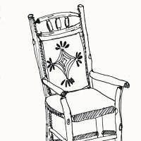 jasper wood chair