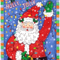 holly jolly santa copy