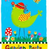 garden party flag