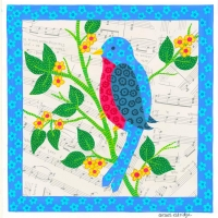 pattern-bird-blue-border