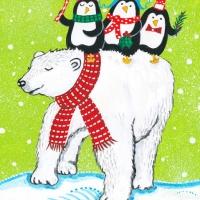 polar bear penguins