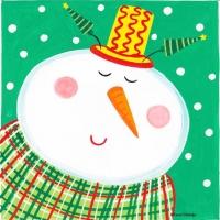 snowman-yellow-hat