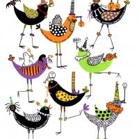 cacklin'-crows