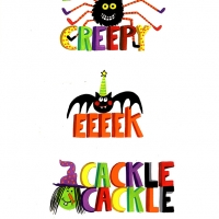 halloween words page 3