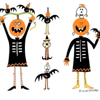 pumpkins-and-bats