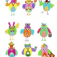 spring owls